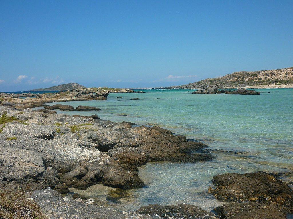Meer am Elafonissi Strand