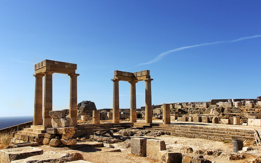 Tempel Ruine in Griechenland