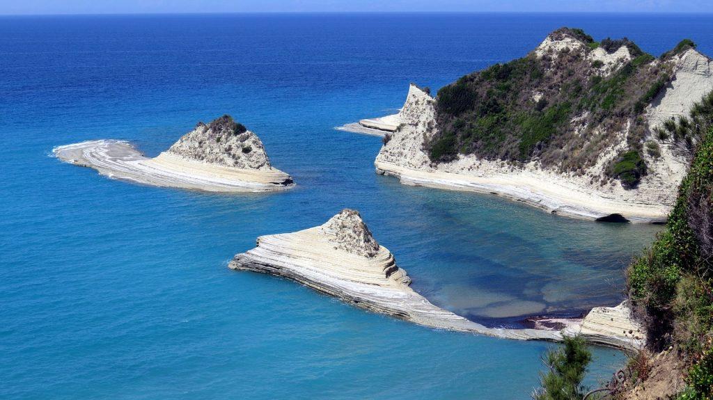 Küste von Korfu