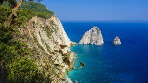 Steile Küste auf Kreta