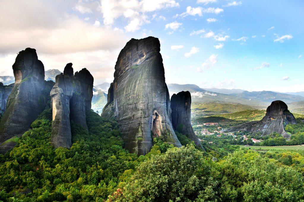 Schöne Landschaft in Griechenland